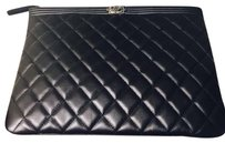 Chanel Pouch Black Clutch