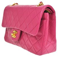 Chanel Quilted Cc Chain Double Flap Shoulder Bag