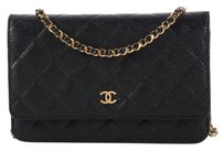 Chanel Quilted Cc Woc Ch.l0104.06 Ghw Cross Body Bag