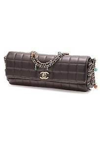 Chanel Square Quilted Satchel in Black
