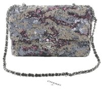 Chanel Sequin Limited Ed Chain Shoulder Bag