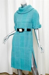 Chanel short dress Turquoise 07a Blue on Tradesy