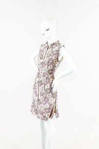Chanel short dress Multi-Color Pink Brown Circle on Tradesy