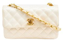 Chanel Vintage Gold Shoulder Bag