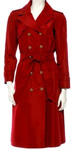 Chanel Silk Trench Coat