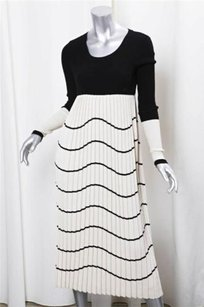 Chanel short dress Black+Cream Womens Blackcream on Tradesy