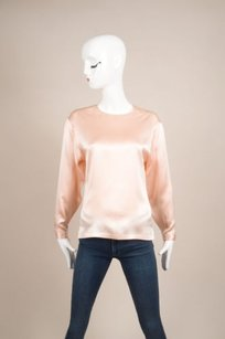 Chanel Gold Four Leaf Top Pink