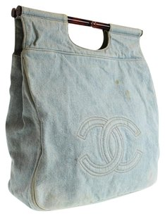 Chanel Vintage Caviar Tote in denim