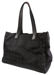 Chanel Vintage New Travel Tote in Black