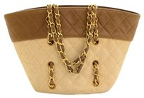 Chanel Vintage Quilted Tote