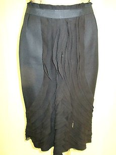 Charles Chang Lima Cotton W Skirt Black
