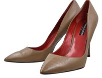 Charles Jourdan Womens Pointed Toe Heels Brown Pumps