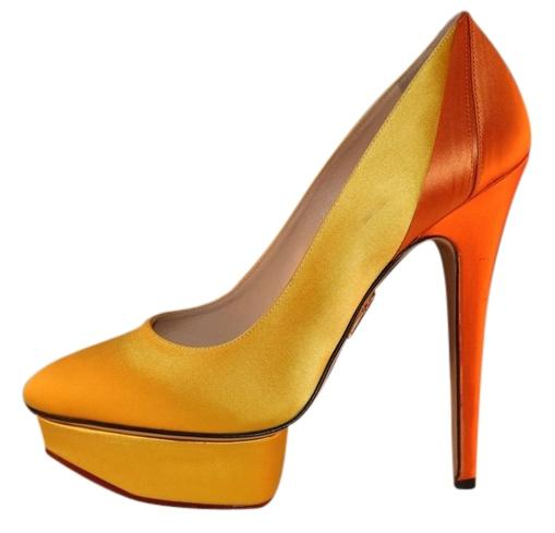 Charlotte Olympia Satin Pointed-Toe Pumps cheap price factory outlet tHCr2Ei1j