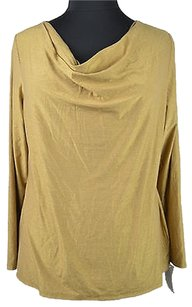 Charter Club 48 76 Womens Top Gold