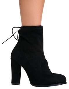 Chase & Chloe Black Boots