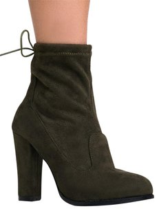 Chase & Chloe Green Boots