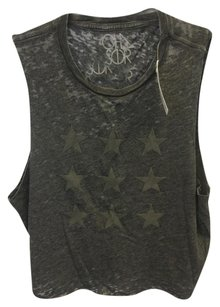 Chaser Brand Top Charcoal Grey/Black