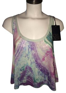 Chaser Crop Tie Dye Top Multi