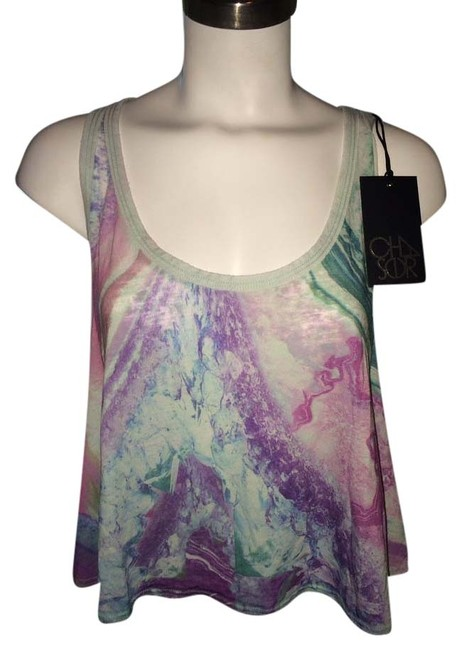 Preload https://item5.tradesy.com/images/chaser-multicolor-crop-tank-topcami-size-2-xs-3482989-0-0.jpg?width=400&height=650