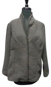 Chico's Chicos Snap Down Charcoal Jacket