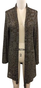 Chico's Chicos Brown Woven Knit Sweater