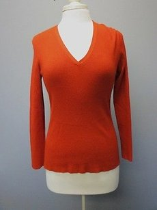 Chico's Chicos Rust Sweater