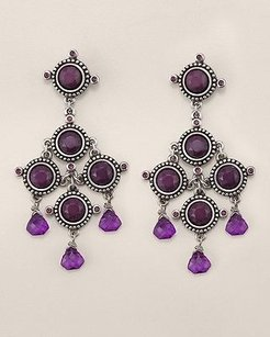 Chico's Vida Chandelier Earrings By Chicos Nwt. Vintage Statement Style.
