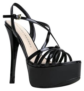 Chinese Laundry Cutouts High-heel Black Sandals