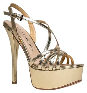 Chinese Laundry Gold Sandals