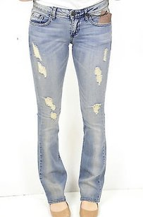 Chip and Pepper 27 X Distressed Boot Cut Jeans