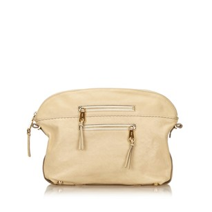 Chloé Beige Brown 6hclcl001 Clutch