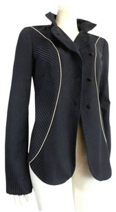 Chloé Black with gold piping Jacket