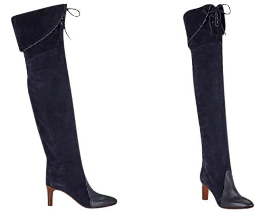 countdown package sale online Chloé Leather & Suede Knee Boots limited edition sale online ebay cheap price sDumsVrX