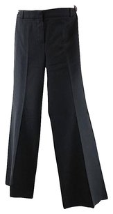 Chloe Acetate Blend Relaxed Pants Black