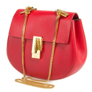 Chloé Chloe Drew Medium Plaid Shoulder Bag