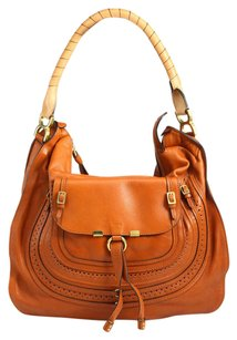 Chloé Chloe Marcie Marcie Large Marcie Marcie Tan Marcie Brown Hobo Bag