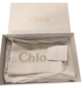 Chlo Chloe shoes box And set of two dust bags.