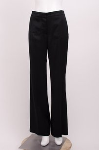 Chlo Chloe Noir Satin Silk Pants