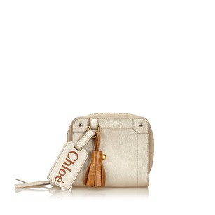 Chloé Leather,others,silver,slg,6gclsw003