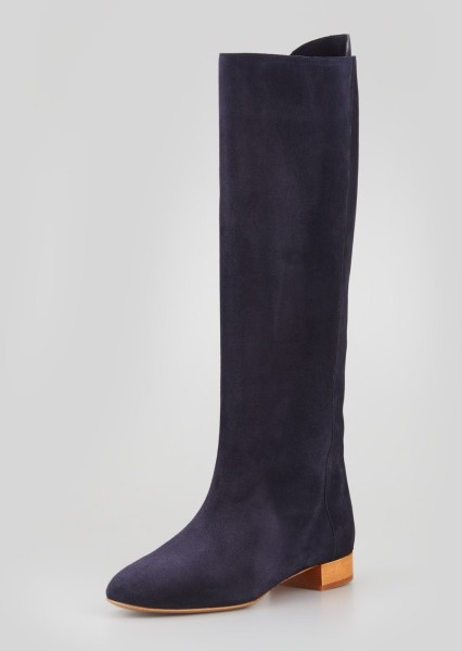Chloé Navy Blue Boots/Booties Size US 7.5