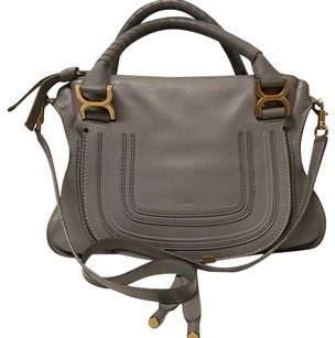 Chloé Satchel in cashmere grey