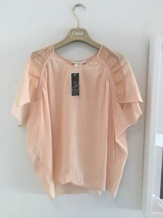 Chlo Chloe Pink For Summer Top Peach