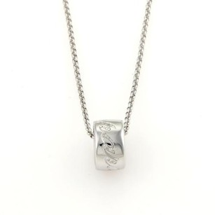 Chopard Chopard Chopardissimo Diamonds Mini Ring Pendant 18k White Gold Necklace