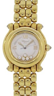 Chopard Chopard Happy Sport 18k Yellow Gold Diamond Watch