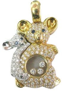 Chopard Chopard 18kt Mother Daughter Bear Diamond Pendant 1.83ct 792724-20