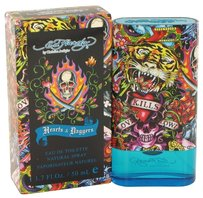 Christian Audigier ED HARDY HEARTS & DAGGERS Mens EDT Spray~ 1.7oz /50ml