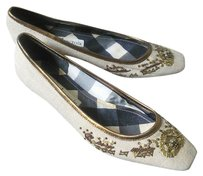 Christian Lacroix canvas Flats