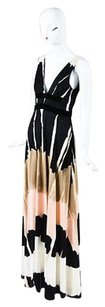 Multi-Color Maxi Dress by Christian Lacroix Black