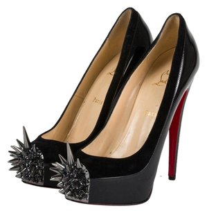 Christian Louboutin Asteroid Stiletto Louboutins Black Platforms