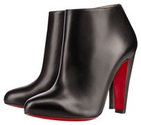 Christian Louboutin Red Leather black Boots